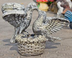 Купить птиц из бетона калькулятор цементного раствора